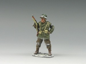 "King and Country Military Miniature from my collection. My ""dad"" figure."