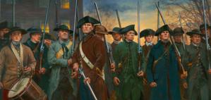 American Militia Minutemen, 1775