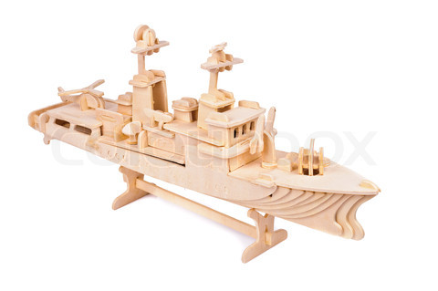 how to build a model ship out of wood