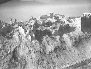The Germans did not actually occupy the monastery at Monte Cassino and offered to evacuate the priceless art within. The Allies did not believe it was not occupied and bombed in with heavy bombers. The Germans then occupied the rubble and turned it into a fort.