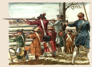 The American Revolution had more than one cause but keep in mind it was more of Civil War than a Revolution since all considered themselves Englishmen. The British miscalculated when they tried to disarm what they considered to be a treasonous militia.