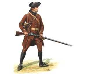 American Militia (Minuteman), 1775 by Don Troiani