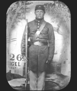 Corporal John Held, Co. D, 26th Wisconsin. Photo from the Kenosha Civil War Museum