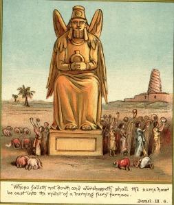 Image is everything. King Nebuchadnezzar of Babylon