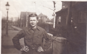 My dad. age 18, 504th Military Police Bn. Location: Cologne, Germany, 1946