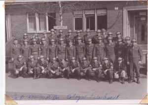 Company B, 504th MP BN. Cologne, Germany, 1946