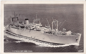 My dad can be forgiven for confusing a Liberty Ship for an Attack Transport which is what the O'Hara was.
