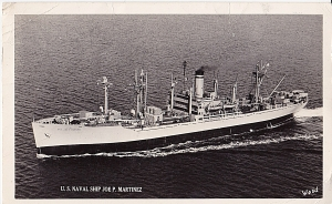 This ship was named for a US Army Medal of Honor winner. It's technically a Victory Ship and built after the so-called Liberty ships.