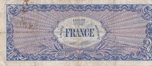 back 100 Francs