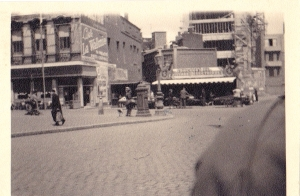 Another market place picture. You can make out the French writing in a number of places.