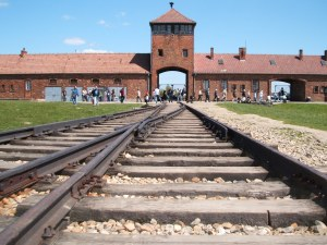 Rail entry to Auschwitz-Birkenau extermnation camp today. I visited here during a trip to Poland in 2007. To say it was a sobering experience would be an understatement.