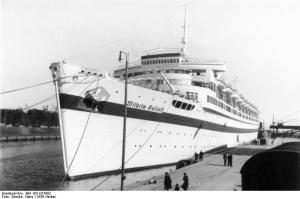 The Wilhelm Gustloff was a hospital ship sunk by a Russian submarine.
