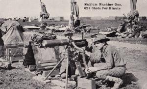 """Maxim or """"Maxium"""" Machine Gun."""