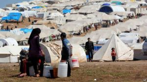 Syrian refugee camp http://www.voanews.com/content/un-reports-1-3-million-syrian-refugees/1637851.html