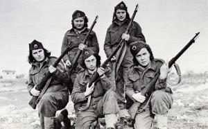 Female Yugoslav partisans http://www.militaryphotos.net/forums/showthread.php?128697-Yugoslav-Partisans-in-ww2-Read-the-first-post-carefully!/page5