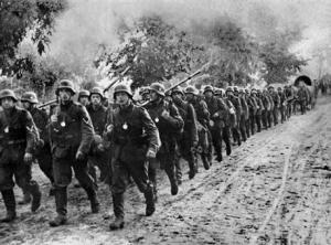 April, 1941 the Germans invade the Balkans. The operation would have serious consequences for Operation Barbarossa.