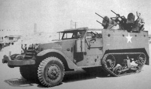 The M3 with a Quad 50 mount was numbered M16.