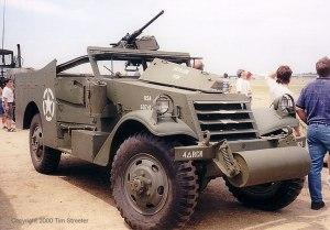 Restored M3 Scout Car