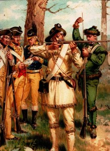 Few Americans at Yorktown would be this well dressed.