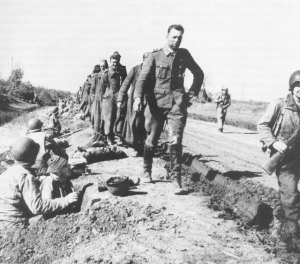German prisoners, Anzio beachhead