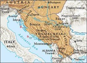 Yugoslavia before the break-up