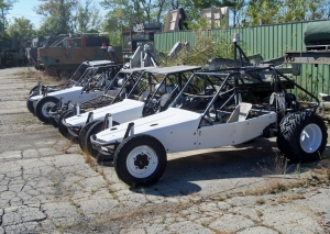 US Navy dune buggies?