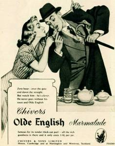 Chivers Marmalade ad, post war. The company is still in business and the products available in the US.