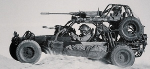US Army Desert Patrol Vehicle