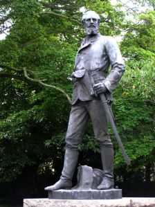 John Nicholson's Memorial statue in his home town in Northern Ireland.