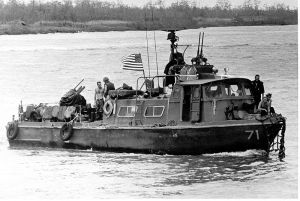 Swift Boat-Vietnam. In the movie Apocalypse Now a Swift Boat is featured.