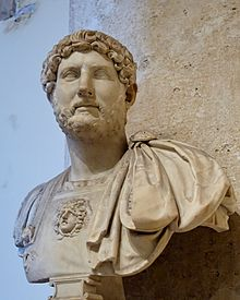 Roman Emperor Hadrian. Famous for Hadrian's wall in Britain but he also fought a brutal war against the Jews (132-136 a.d.) http://en.wikipedia.org/wiki/Hadrian