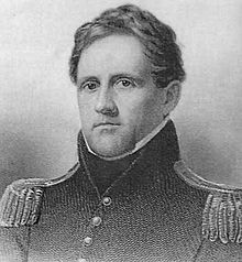 A young Winfield Scott during the War of 1812. Scott's career would last until the first years of the American Civil War.