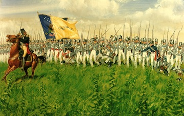 Battle of the Chippewa, July, 1814- when Cousin Jonathan finally received some respect (2/6)