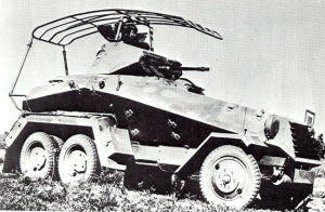 Sdkfz 232 early war German armored car