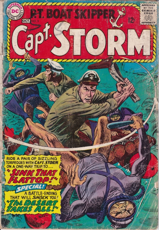 Was JFK the inspiration for Capt. Storm? I think so.