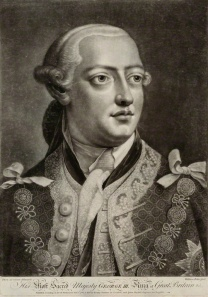 King George III-George was a Hanoverian German.
