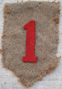 Shoulder patch 1st Infantry Division WW1