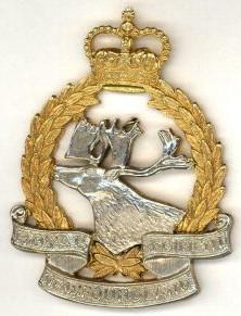 Badge of the Royal Newfoundland Regiment of Canada