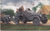 King Armored Machine Gun Car US_postcard