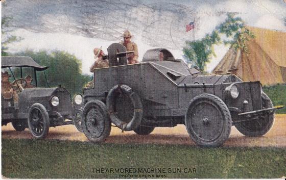 American AC postcard