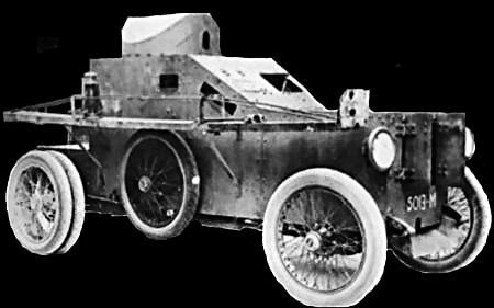 King armored car
