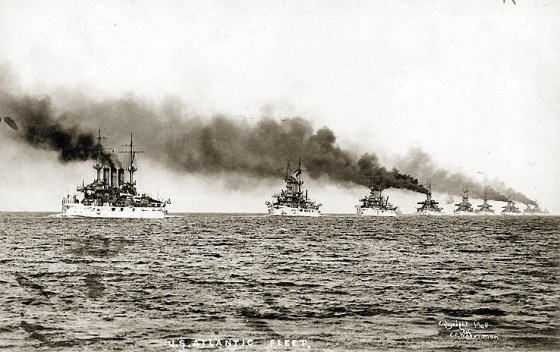 US Atlantic Fleet-1907
