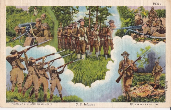WW2 American Postcard2