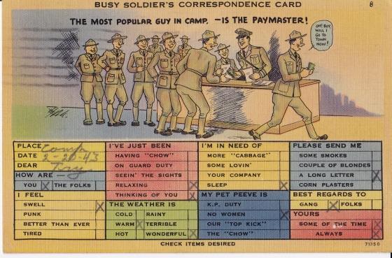 WW2 American Postcard3