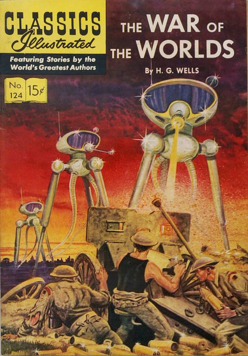 Classics Illustrated-War of the Worlds