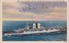 USS Saratoga (CV-3) WW2postcard