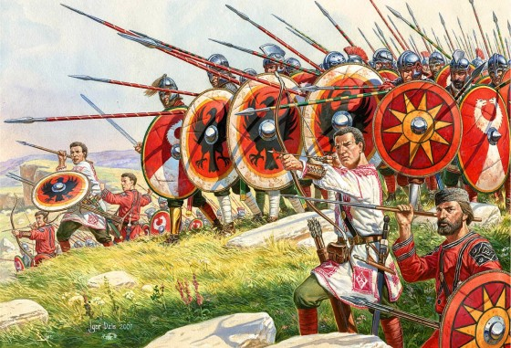 Late Roman Army http://www.tagmata.it/the_battle_of_catalaunian_fields.htm