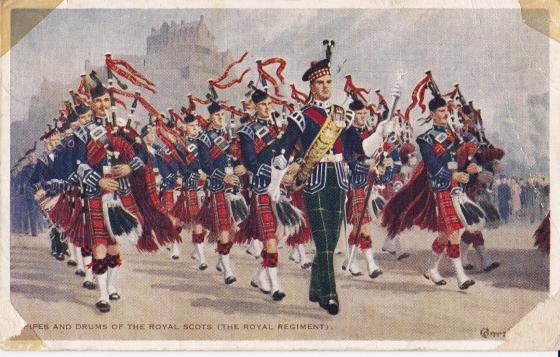Royal Scots front
