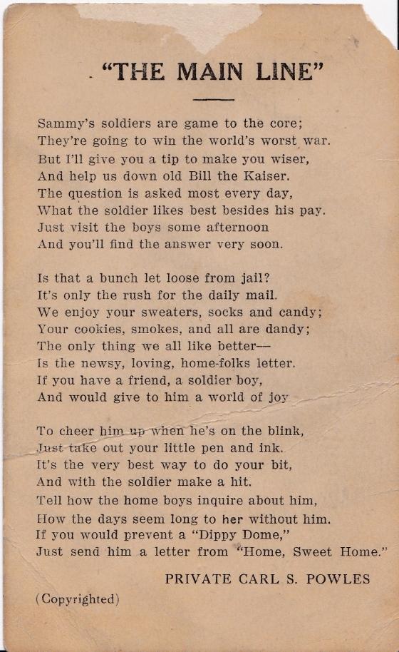 Dodughboy poem
