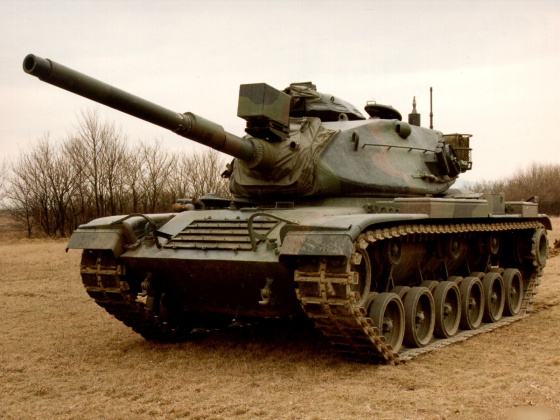 The M60 Patton Tank was replaced my the M1 Abrams tank. Abrahams served under Patton in the Third Army.